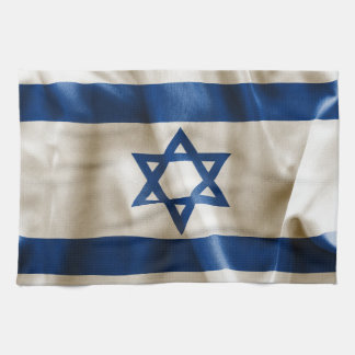 Israel flagga kökshandduk