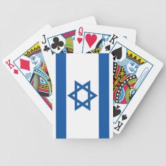 Israel flagga spelkort