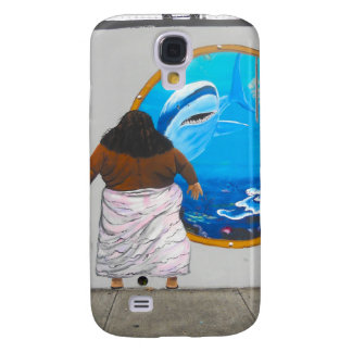 Israel för Hawaii gatakonst väggmålning Galaxy S4 Fodral
