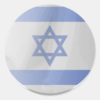 Israel Israel Runda Klistermärken