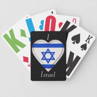 Israel Isreali flagga Spelkort
