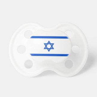 Israelisk flagga baby napp