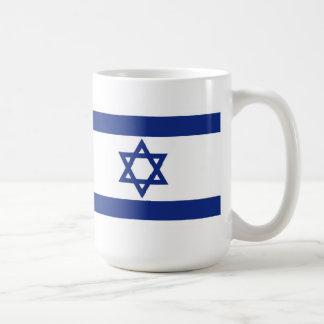 Israelisk flagga kaffemugg