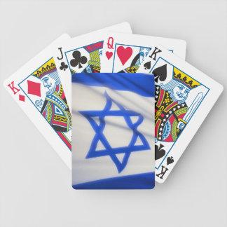ISRAELISK FLAGGA SPELKORT