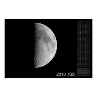 Iss-kalender 2010 poster