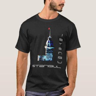 Istanbul stadsjungfru torn t-shirt