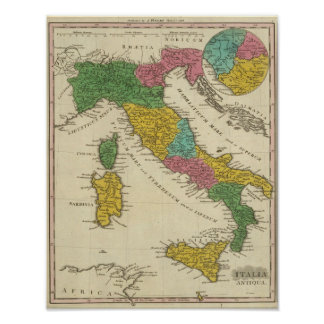 Italia Antiqua Poster