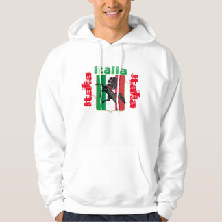 Italia Hooded tröja! Munkjacka