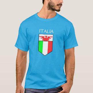 Italia - italienare skyddar med örnskjortan tröja