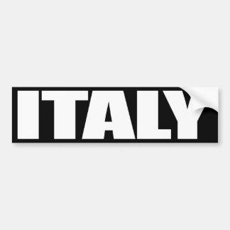 Italien Bildekal