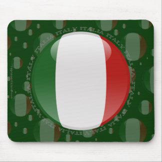 Italien bubblar flagga musmatta