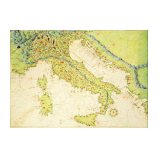 Italien Canvastryck