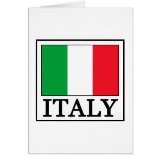 Italien Hälsningskort