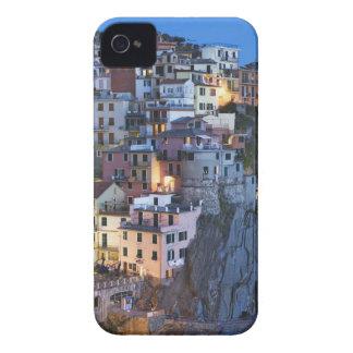 Italien Manarola. Skymningnedgångar på en backtown iPhone 4 Case-Mate Skydd