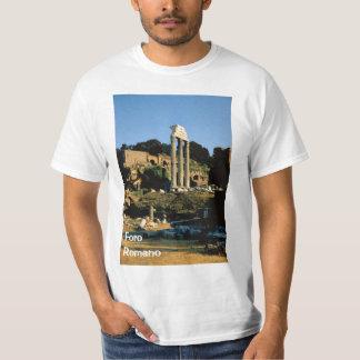 Italien Rome; Foro Romano Tee Shirt