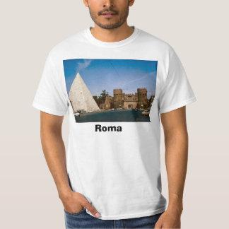 Italien, Rome, ROma, pyramiden och staden utfärda T-shirts