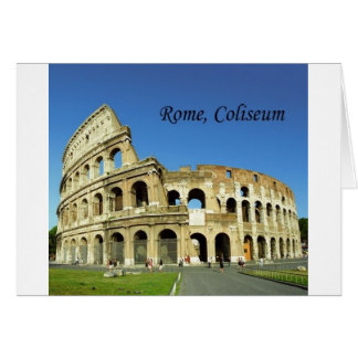 Italien Rome, romersk Coliseum (St.K.) Hälsningskort