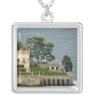 Italien Stresa, sjö Maggiore, Isola Bella 2 Silverpläterat Halsband