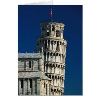 Italien Tuscany, Pisa, Campo dei Miracoli. Hälsningskort