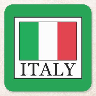 Italien Underlägg Papper Kvadrat