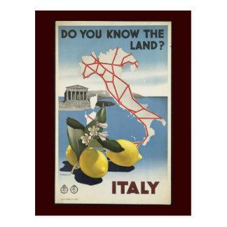Italien Vykort