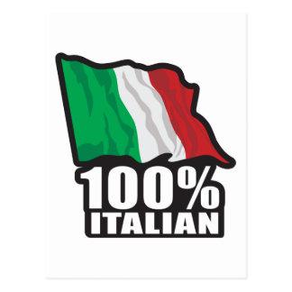 Italienare 100% vykort
