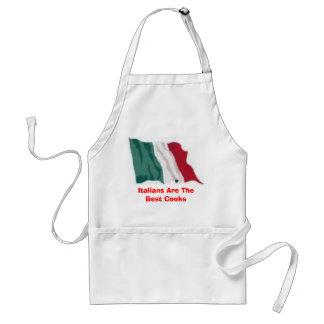 Italienare är de bäst kockarna förkläde