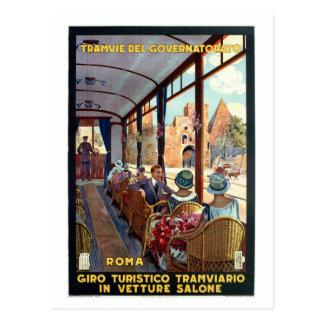 Italienare för den vintageRome 20-tal reser Vykort
