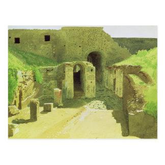 Italienare fördärvar, 1876 vykort