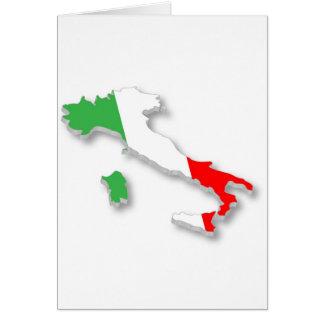 Italienare Hälsningskort