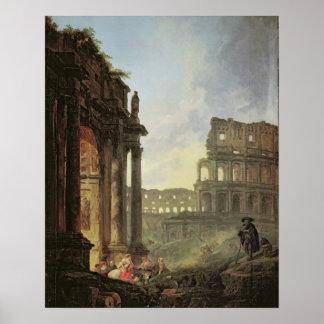 Italienare landskap poster