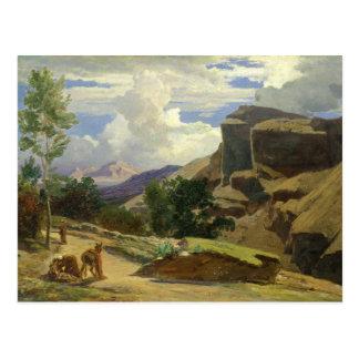 Italienare landskap vykort