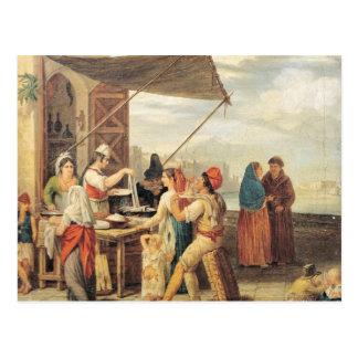 Italienare marknadsför vykort