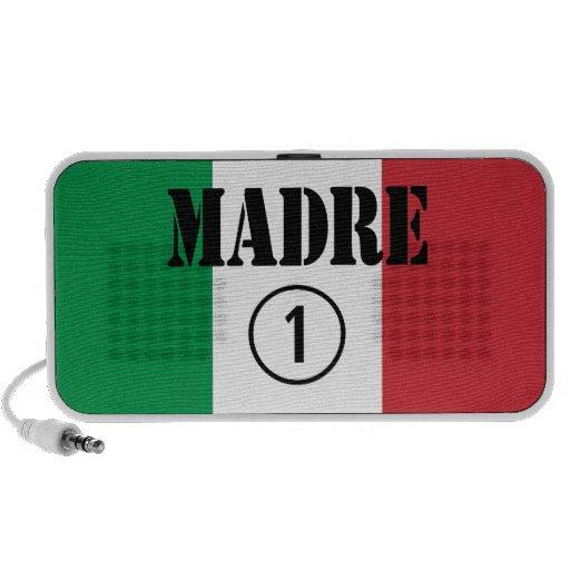 Italienare - talande mammor & mammor: Madre Numero Högtalarsystem