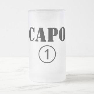 Italienarechefer: CapoNumero Uno Frostad Glas Mugg