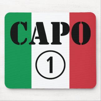 Italienarechefer: CapoNumero Uno Musmattor