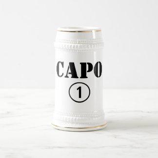 Italienarechefer: CapoNumero Uno Ölkrus
