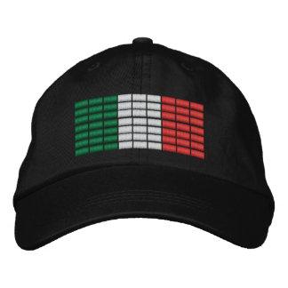 Italienflagga broderade hatt 1