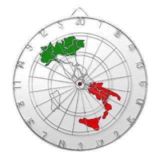 Italienflaggakarta Darttavla