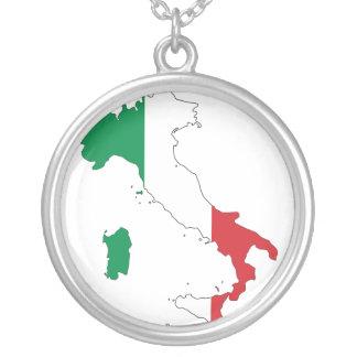 Italienhalsband Silverpläterat Halsband