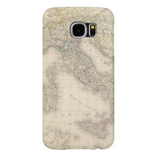 Italienkarta Samsung Galaxy S6 Fodral