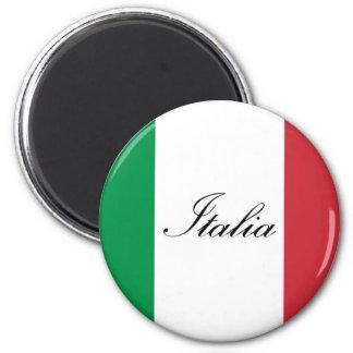 Italiensk flagga - flagga av italien - Italia Magnet