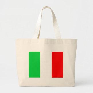 Italiensk flagga jumbo tygkasse
