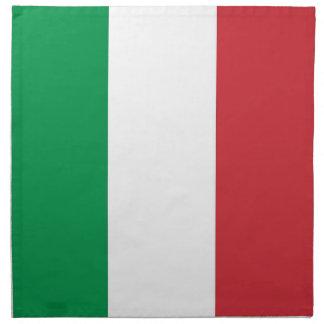 Italiensk flagga på den MoJo servetten Servett Med Tryck