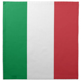 Italiensk flagga på den MoJo servetten Servett