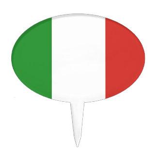 Italiensk flagga tårt dekoration