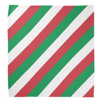 Italiensk flaggabandana | Tricolore av italien Kerchief