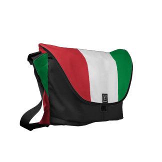 Italiensk flaggaRickshawmessenger bag Kurir Väska