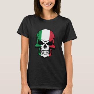Italiensk flaggaskalle tshirts