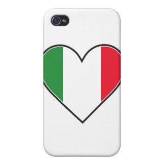 Italiensk hjärta iPhone 4 skydd